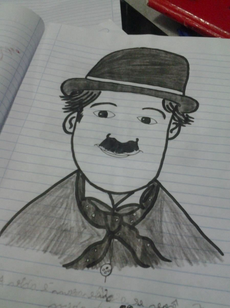 Rabiscando: Charles Chaplin