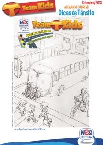 """Lápis da História """"Dicas de Trânsito"""" escrita para NES Editora"""