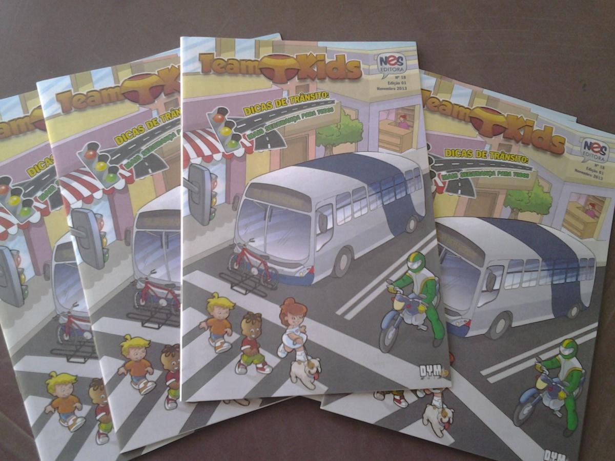 Team Kids - Dicas de Trânsito em Quadrinhos é o mais novo Lançamento da NES Editora