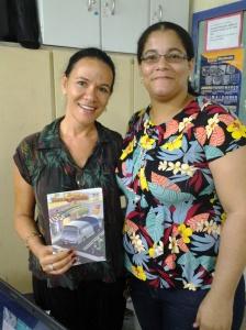 Com a Professora Diana Belo