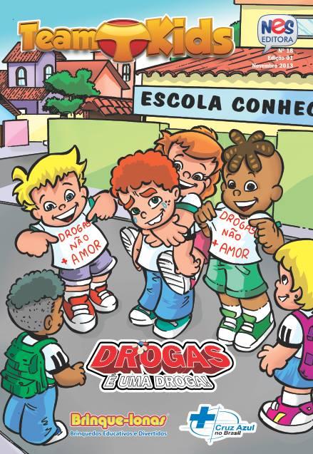Nes Editora lança Revista em Quadrinhos em Combate as Drogas
