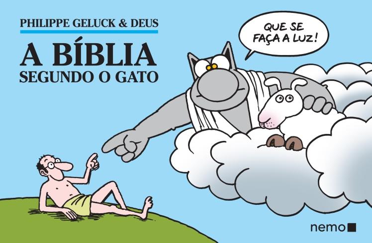 A Bíblia segundo o Gato - capa