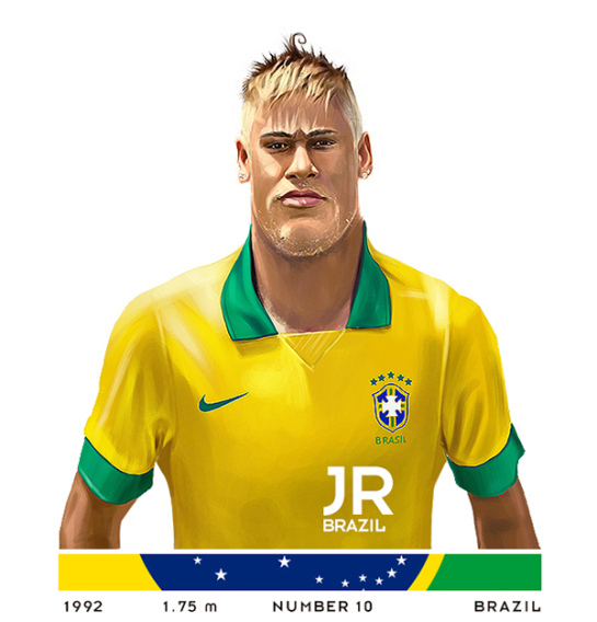 neymar-desenho1