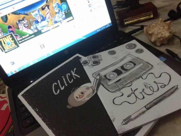 Click e Três - de Samanta Flôor