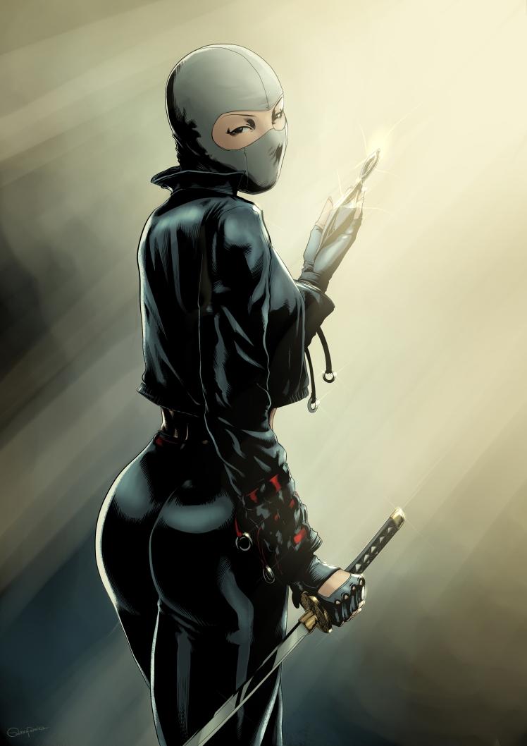 ninja girlcor correção