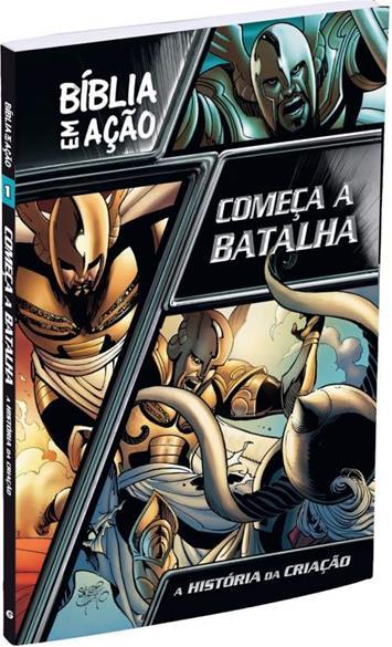 """Lançada a """"Bíblia em Ação - Começa a Batalha"""", de Sergio Cariello"""