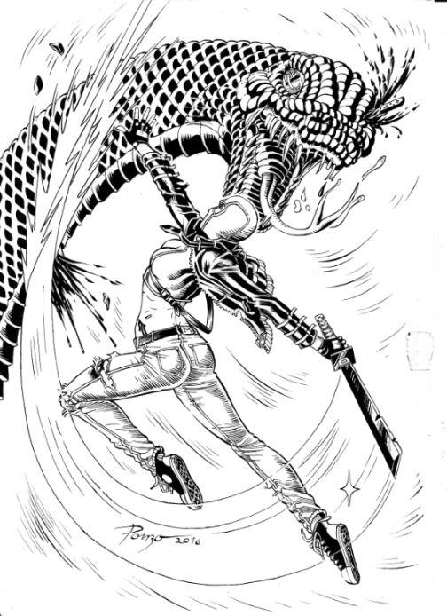 Nilla Cheng – A Ninja, ilustrada por Pedro Ponzo | Galeria