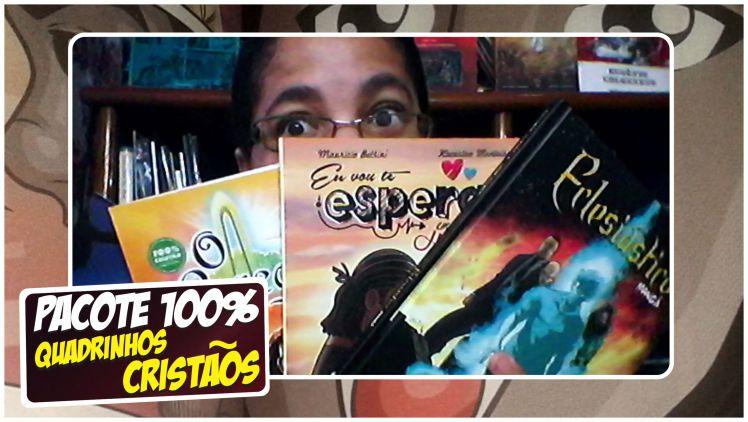 [Vlog da Mi] Confira o Pacote de Quadrinhos enviado pela Editora 100% Cristão