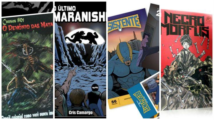 Mais 4 Quadrinhos Nacionais para você conhecer