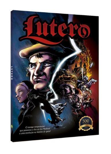 Lutero e Jó ganham adaptação em Quadrinhos | Lançamento